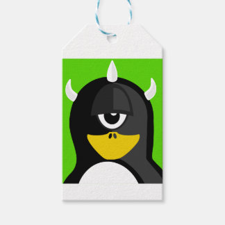 Cyclops Penguin Gift Tags