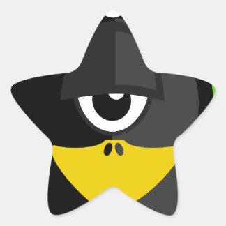 Cyclops Penguin Star Sticker
