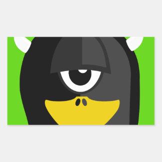 Cyclops Penguin Sticker