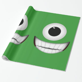 Cyclops Smile Wall Decoration Wrapping Paper