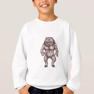 Cyclops Standing Tattoo Sweatshirt