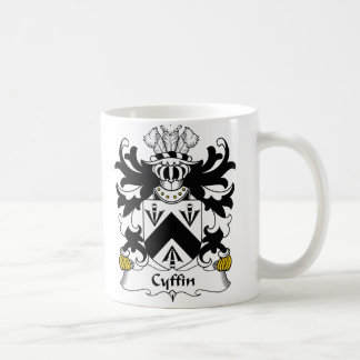 Cyffin Family Crest Coffee Mug