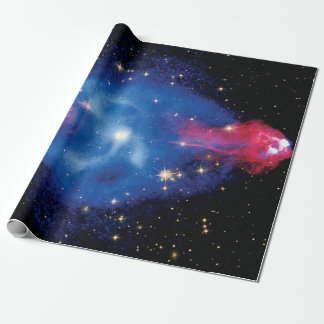 Cygnus A Galaxy X-Ray Montage Outer Space Photo Wrapping Paper