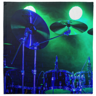 Cymbals in the Fog Napkin