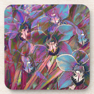 Cymbidium Orchid Carnival Coaster