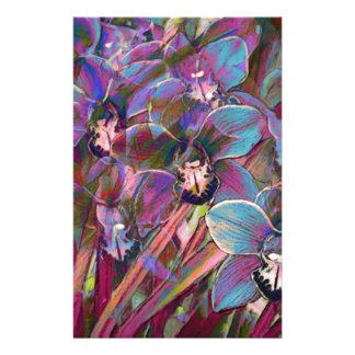 Cymbidium Orchid Carnival Stationery
