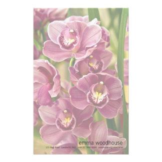 Cymbidium Orchid Stationery