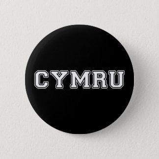Cymru 2 Inch Round Button