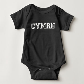 Cymru Baby Bodysuit