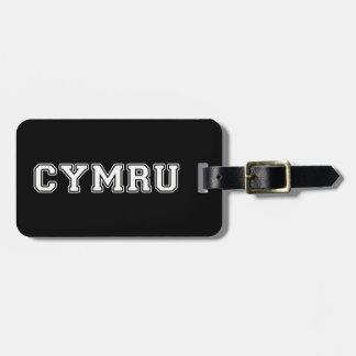 Cymru Luggage Tag