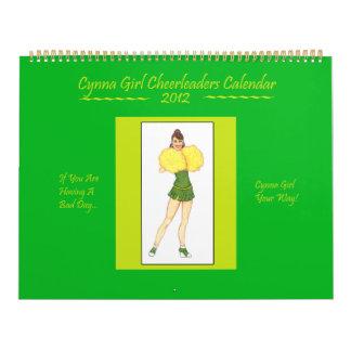 Cynna Girl Cheerleaders Calendar