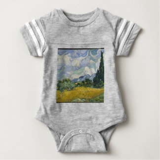 Cypress Grove and Wheat Field Baby Bodysuit