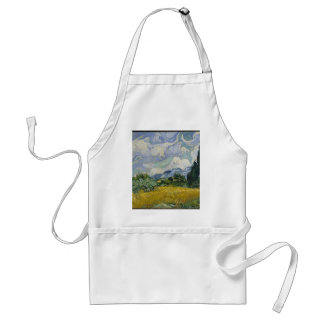 Cypress Grove and Wheat Field Standard Apron