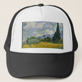 Cypress Grove and Wheat Field Trucker Hat