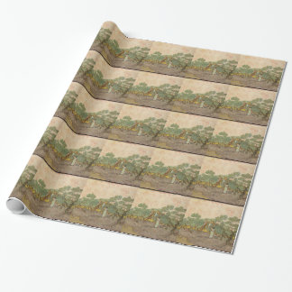 Cypress Grove Wrapping Paper