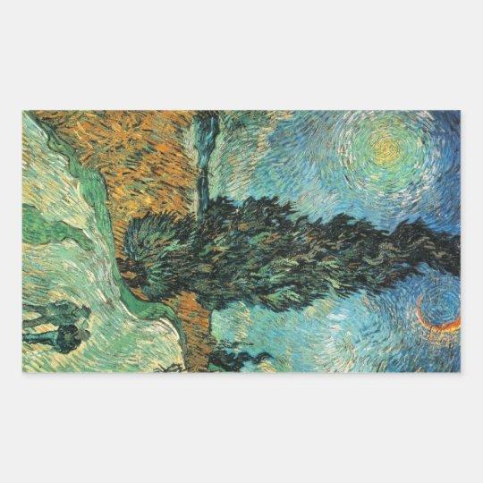 Cypress Star Van Gogh Sticker