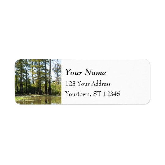 Cypress Swamp Return Address Label