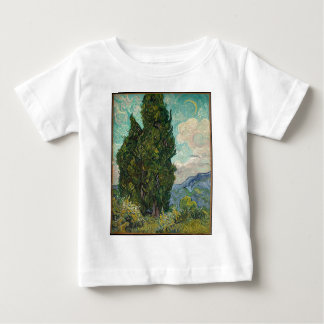 Cypress Tree at Night Baby T-Shirt