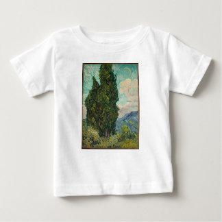 Cypress Tree at Night Baby T-Shirt