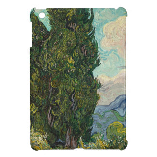 Cypress Tree at Night Cover For The iPad Mini