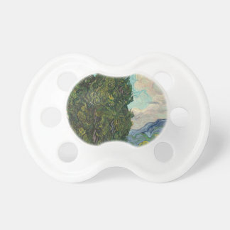 Cypress Tree at Night Pacifier