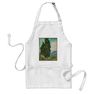 Cypress Tree at Night Standard Apron