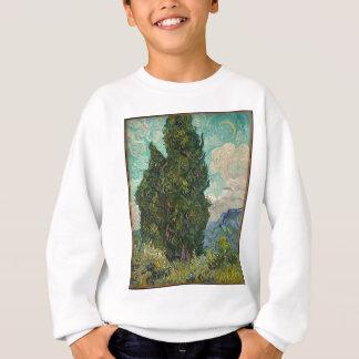 Cypress Tree at Night Sweatshirt