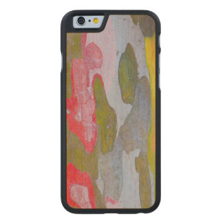 Cypress tree bark patterns, Italy Carved® Maple iPhone 6 Case