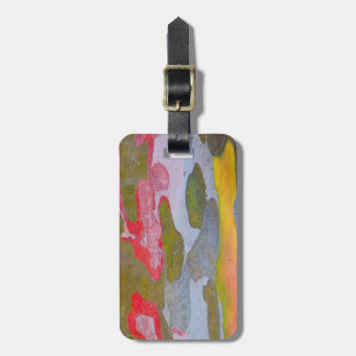 Cypress tree bark patterns, Italy Luggage Tag