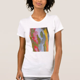 Cypress tree bark patterns, Italy T-Shirt