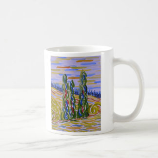 Cypresses Coffee Mug