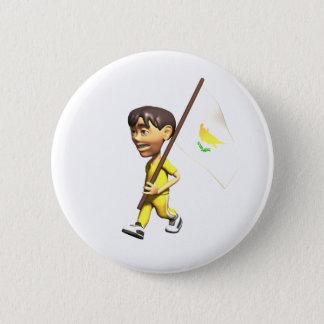 Cypriot Boy 2 Inch Round Button