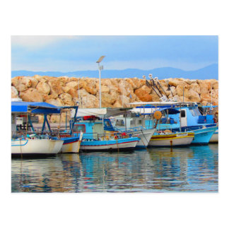 Cypriot Fishing Boats Postcard
