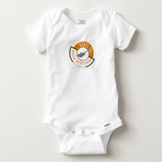 CYPRUS 100% CREST BABY ONESIE