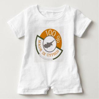CYPRUS 100% CREST BABY ROMPER