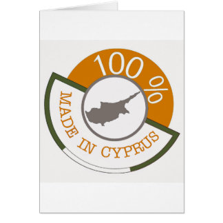 CYPRUS 100% CREST CARD