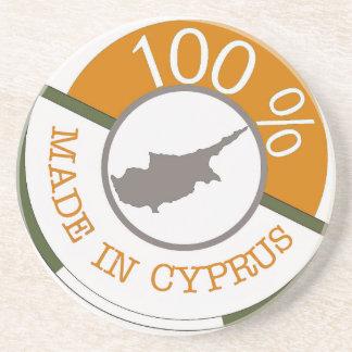 CYPRUS 100% CREST COASTER