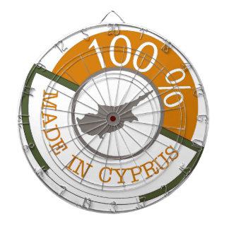 CYPRUS 100% CREST DARTBOARD