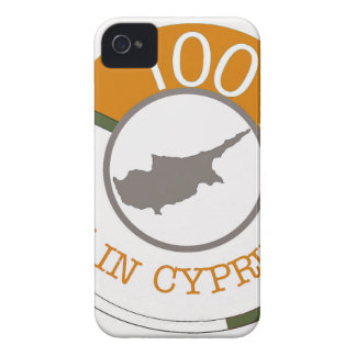 CYPRUS 100% CREST iPhone 4 CASE