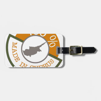 CYPRUS 100% CREST LUGGAGE TAG