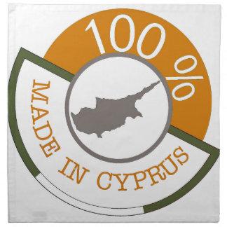 CYPRUS 100% CREST NAPKIN