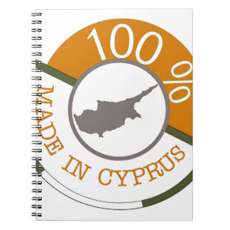 CYPRUS 100% CREST NOTEBOOKS