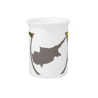 CYPRUS 100% CREST PITCHER