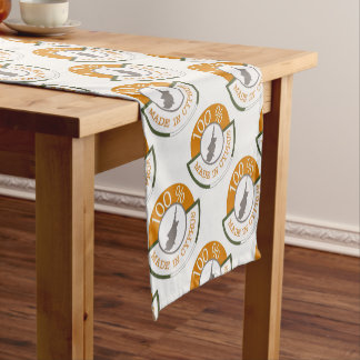 CYPRUS 100% CREST SHORT TABLE RUNNER