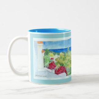 Cyprus and the Vault of Heaven Two-Tone Coffee Mug