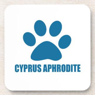 CYPRUS APHRODITE CAT DESIGNS COASTER