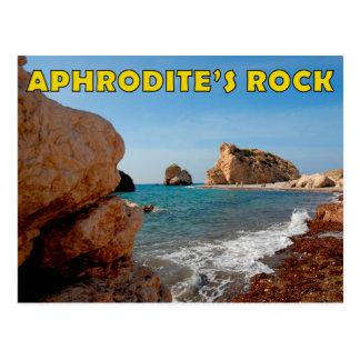 Cyprus Aphrodite's rock Cyprus Postcard