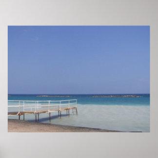 CYPRUS BEACH POSTER