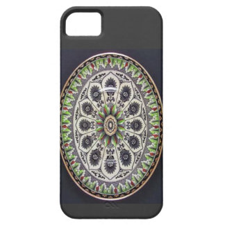Cyprus Brownfield Long Green Edged Plate iPhone 5 Cover
