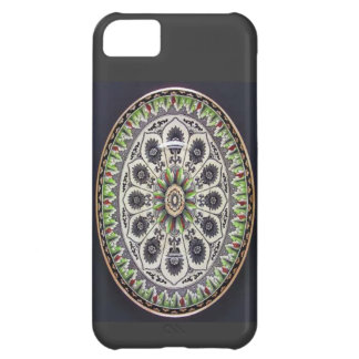 Cyprus Brownfield Long Green Edged Plate iPhone 5C Cover